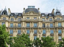 巴黎香榭丽舍辉盛阁国际公寓,位于巴黎的公寓