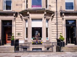 豪宅博纳姆酒店,位于爱丁堡的酒店