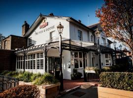 狐狸与鹅酒店,位于伦敦温布利球场附近的酒店