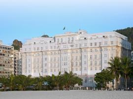 贝尔蒙德科帕卡巴纳皇宫酒店