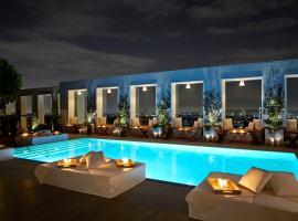 西好莱坞蒙德里安洛杉矶酒店