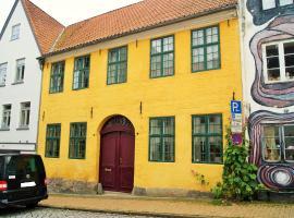 Das Gelbe Haus - Drei besondere Ferienwohnungen,位于弗伦斯堡的公寓