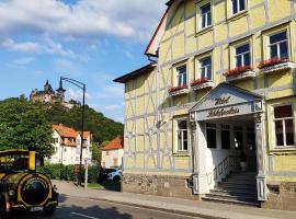 Boutiquehotel Schloßpalais,位于韦尼格罗德的酒店