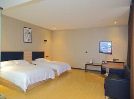 尚客优精选山东泰安泰山区火车站国际会展中心店,位于泰安的酒店