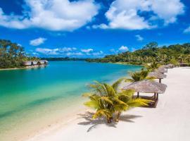 瓦努阿图假日酒店度假村,位于维拉港的酒店