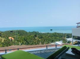 Villa Panoramic Ocean View - 2 Bedrooms,位于苏梅岛的酒店