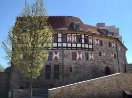 Burghotel Scharfenstein,位于Leinefelde的酒店
