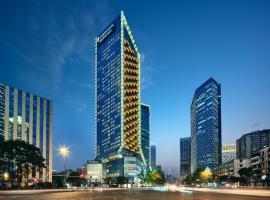 成都仁恒洲际行政公寓(夏日特惠),位于成都的酒店
