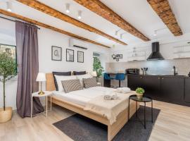 Grota apartments in the center,位于里耶卡的公寓