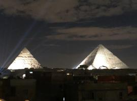 Grand pyramids view hotel,位于开罗的酒店