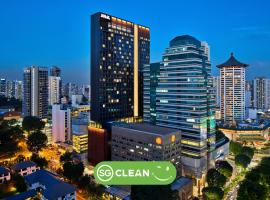 YOTEL Singapore Orchard Road (SG Clean, Staycation Approved),位于新加坡爱雍·乌节附近的酒店