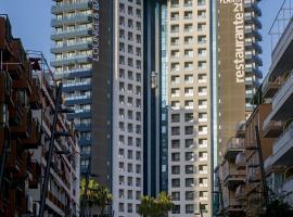 马德里中心酒店,位于贝尼多姆的酒店