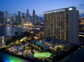 Mandarin Oriental, Singapore (SG Clean),位于新加坡的酒店