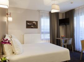 日内瓦波尔泰舒适套房公寓式酒店,位于安纳马斯的公寓