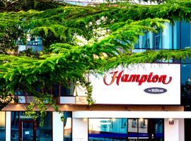 华沙市中心希尔顿汉普顿酒店