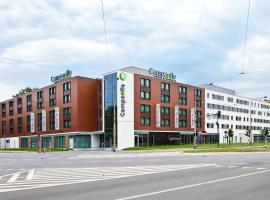 弗罗茨瓦夫中枢钟楼酒店