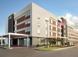 德州圣安东尼奥机场希尔顿欣庭套房酒店