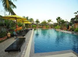 公园泳池度假酒店, 廊开