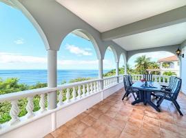 加勒比海海景假日公寓,位于Méro的酒店