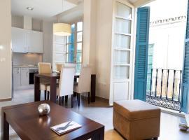 皮纳尔马拉加中心公寓酒店,位于马拉加的公寓