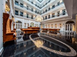 布达佩斯威望酒店,位于布达佩斯的酒店