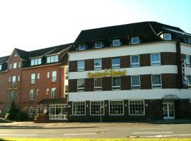 中央酒店,位于弗伦斯堡的酒店