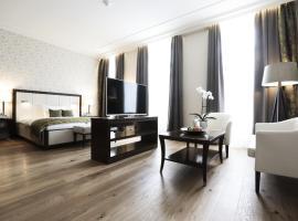 克莱纳玫瑰园酒店,位于曼海姆的酒店