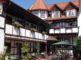 坎斯霍夫兰德酒店&餐厅,位于Uhlstädt的酒店
