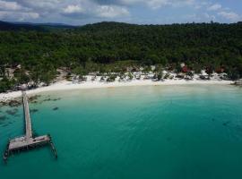 瓜隆岛自然海滩露营地