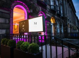 24号皇家露台酒店, 爱丁堡