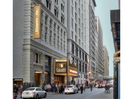 美琪芝加哥剧院区汉普顿酒店
