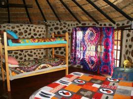 非洲乡村山林小屋
