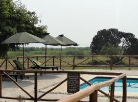 伊哈姆巴湖畔旅游山林小屋