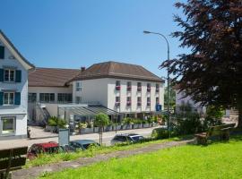 Hotel Hecht,位于Rheineck的酒店