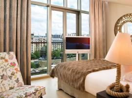 巴黎巴士底哥拉斯卡酒店,位于巴黎的酒店