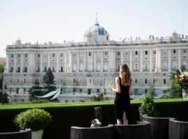 萨巴蒂尼花园公寓酒店,位于马德里的公寓