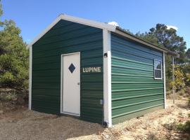 Lupine Cabin, Verdure