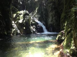 Ebano Verde Waterfall and Ecolodge