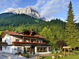 Berghaus Halali - dein kleines Hotel an der Zugspitze, 埃尔瓦尔德