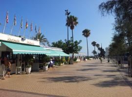 Frontbeach apartment in los Boliches