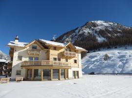 Ecohotel B&B Chalet des Alpes Livigno, 利维尼奥