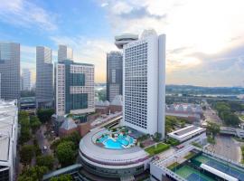 新加坡泛太平洋酒店,位于新加坡新达城购物中心附近的酒店