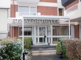 塞纳图酒店,位于比勒费尔德的酒店