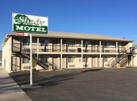 Shady Motel, Caliente (Pahranagat National Wildlife Refuge附近)