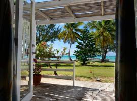 阿内加达岛礁酒店, The Settlement