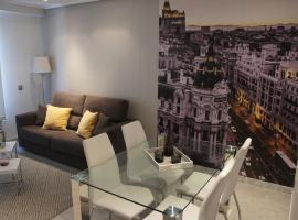 阿瑞赞尼卡套房公寓,位于马德里的公寓