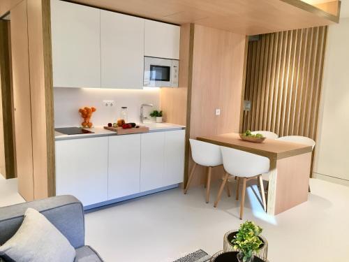 Inside Bilbao Apartments