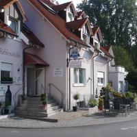 Landhotel Garni am Mühlenwörth,位于陶贝尔比绍夫斯海姆的酒店
