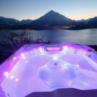 Otium - Romantic chalet with best lake view,位于锡格里斯维尔的酒店