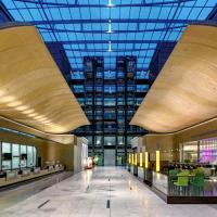 希尔顿法兰克福机场酒店,位于美因河畔法兰克福的酒店